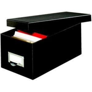 NWT Globe-Weis 4x6  Black Storage Box